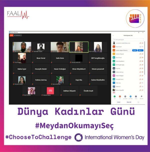 8 Mart Dünya Kadınlar Günü Semineri